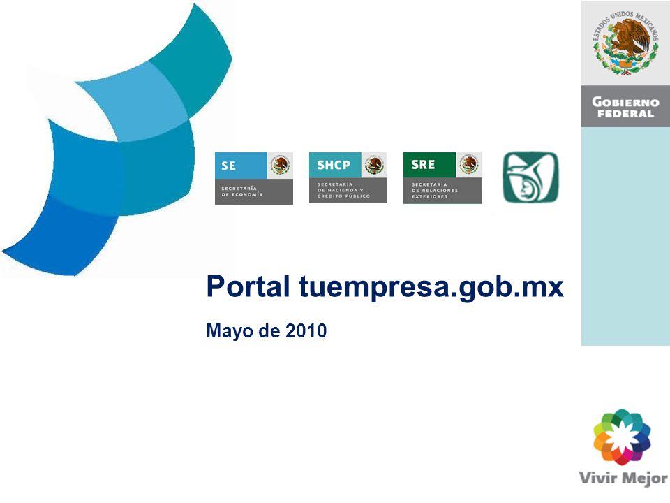Portal tuempresa.gob.mx