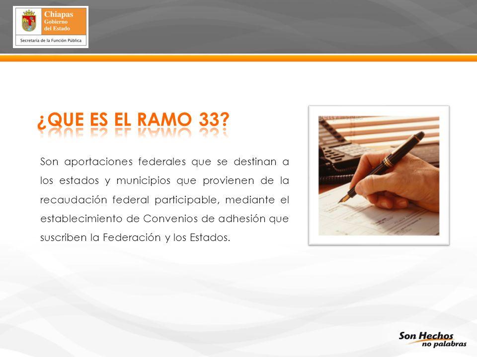 ¿QUE ES EL RAMO 33