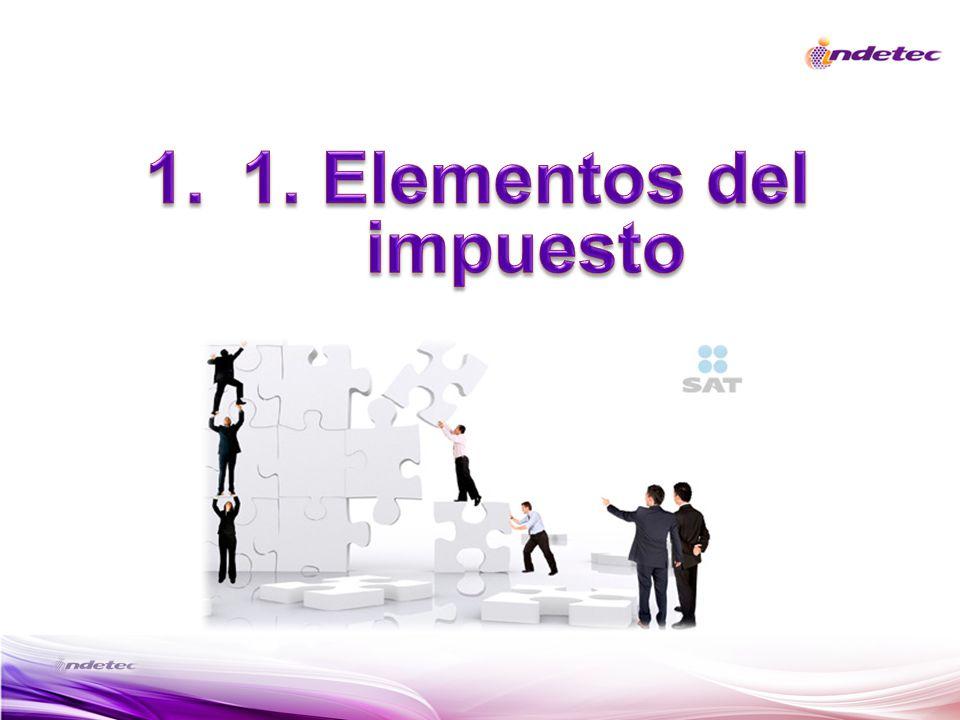 1. Elementos del impuesto