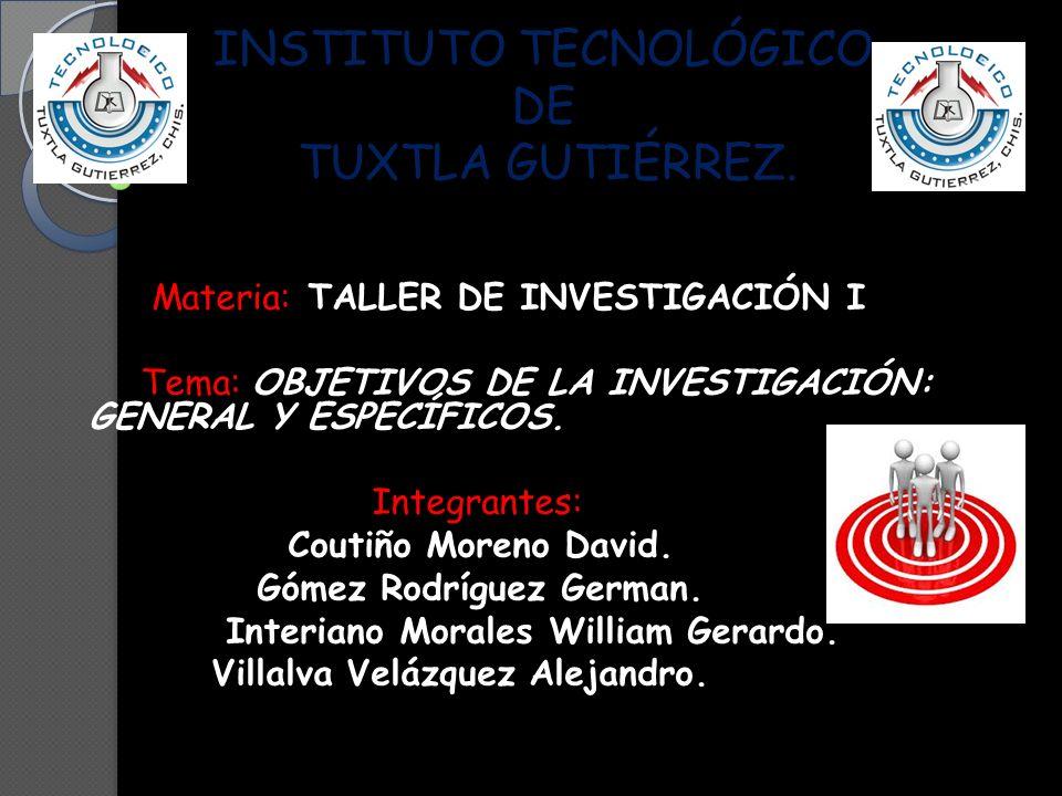INSTITUTO TECNOLÓGICO DE TUXTLA GUTIÉRREZ.