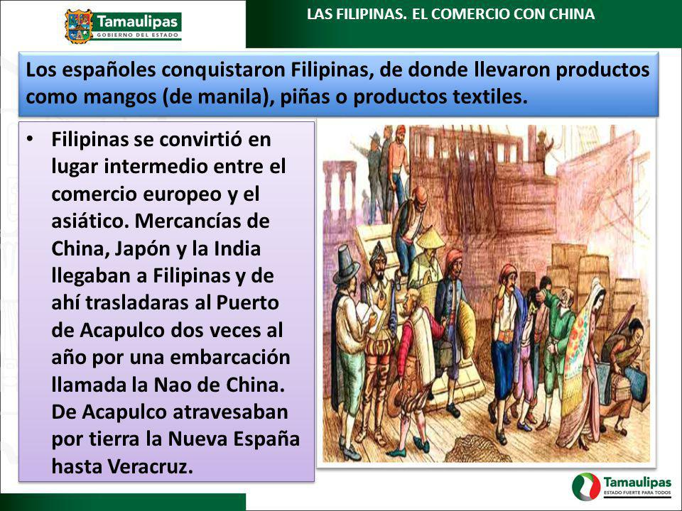 LAS FILIPINAS. EL COMERCIO CON CHINA