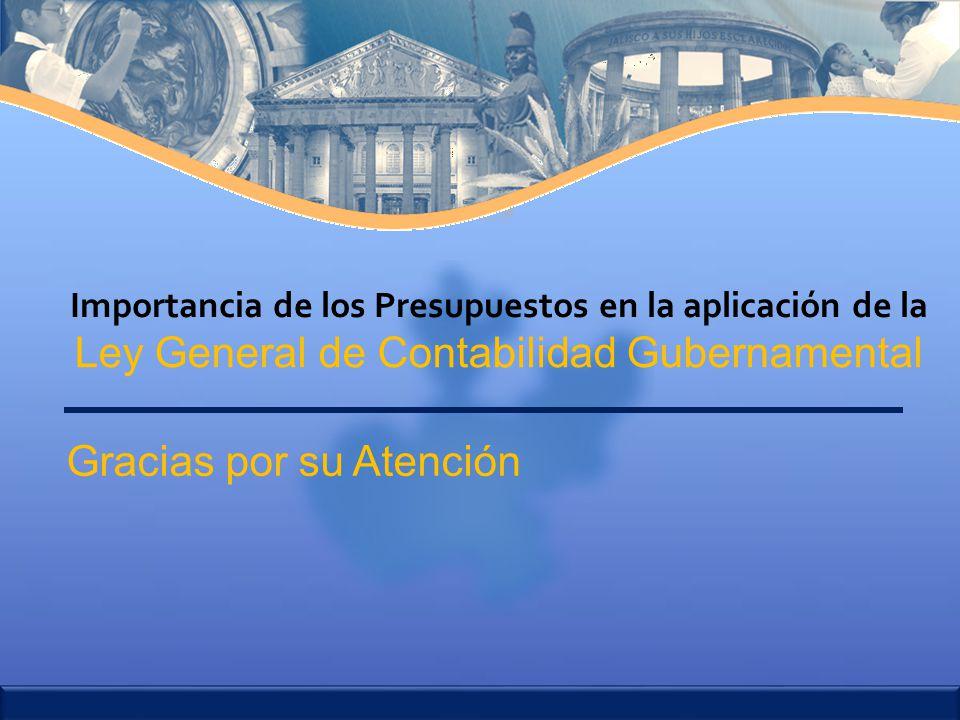 Importancia de los Presupuestos en la aplicación de la