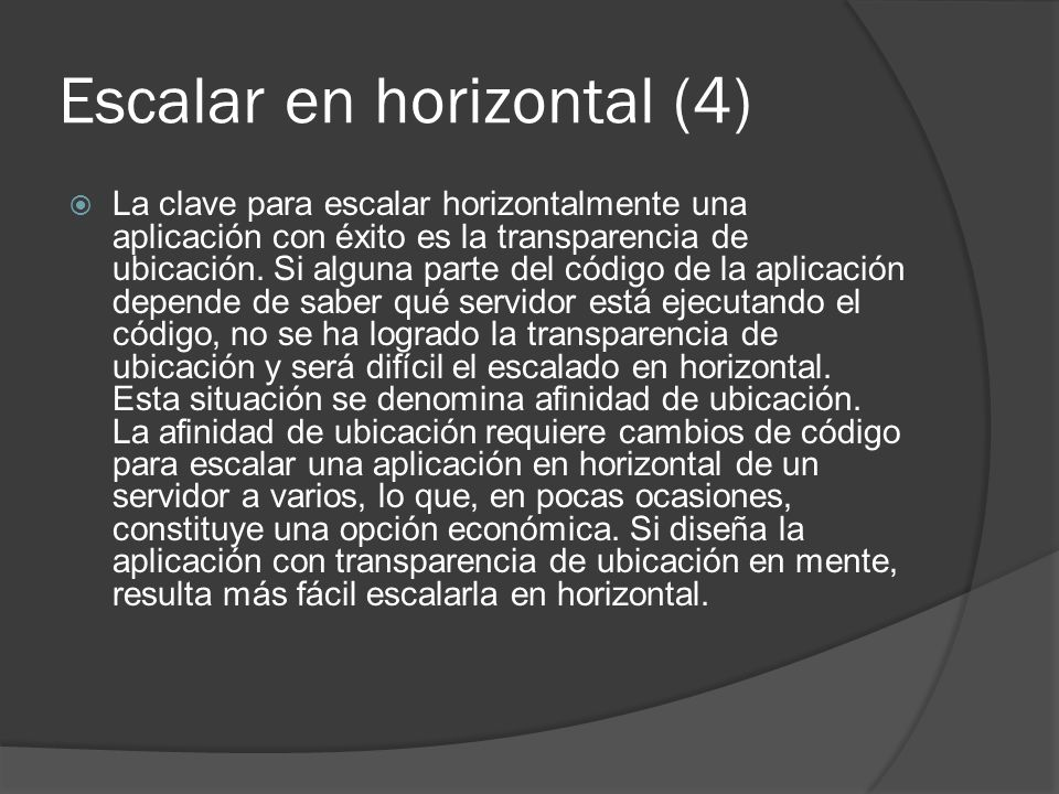 Escalar en horizontal (4)