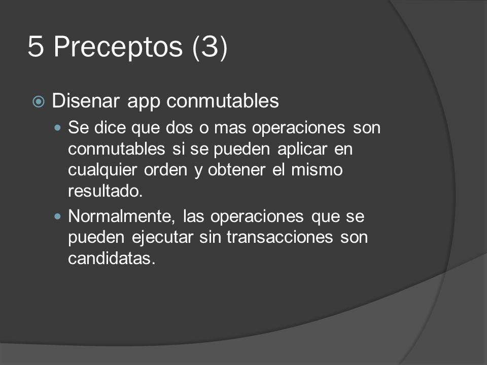 5 Preceptos (3) Disenar app conmutables