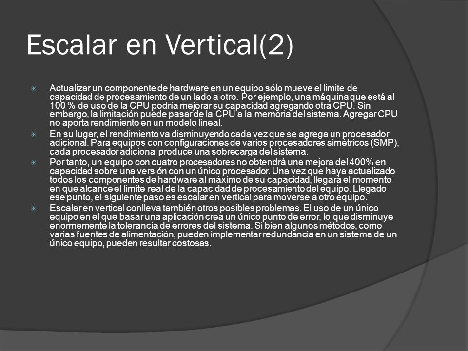 Escalar en Vertical(2)