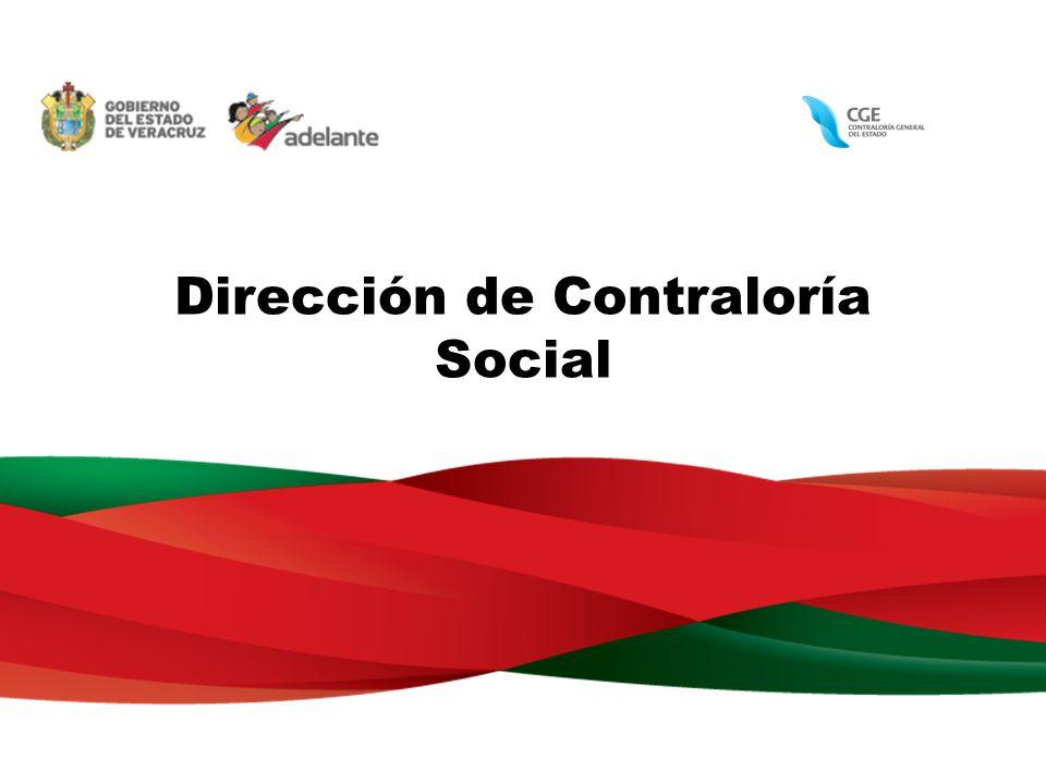 Dirección de Contraloría Social
