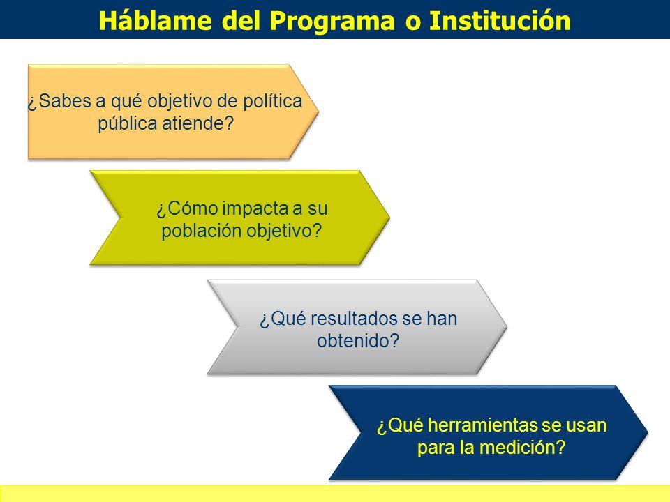 Háblame del Programa o Institución
