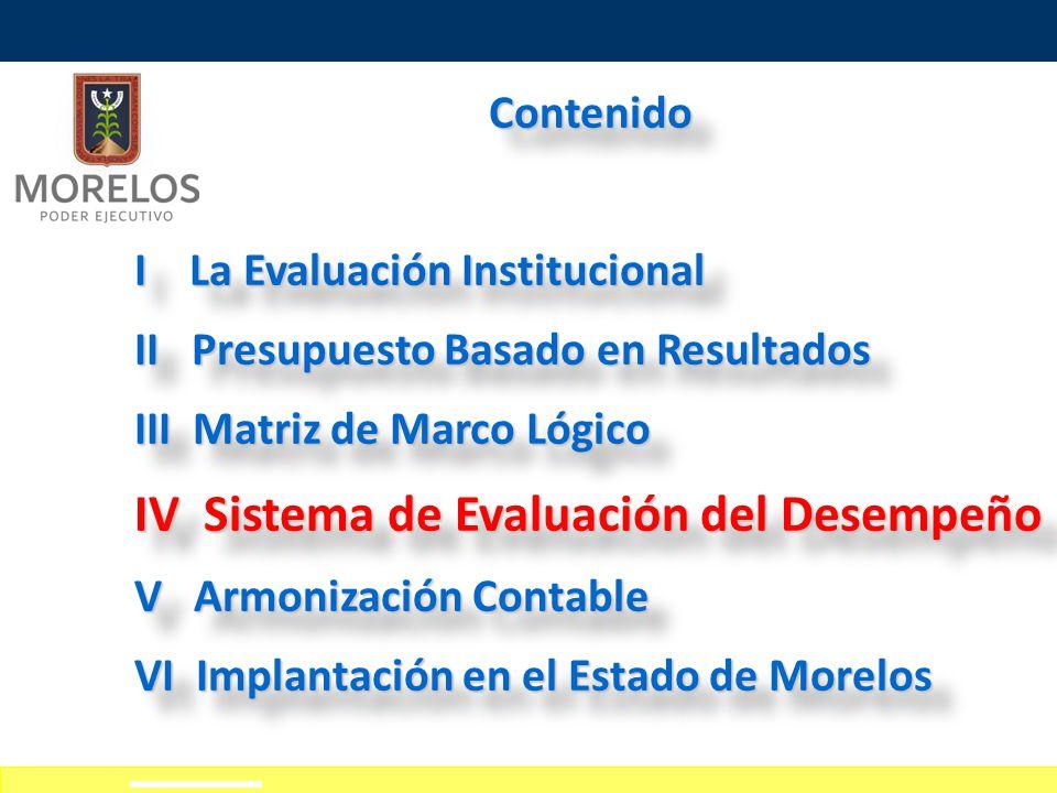 IV Sistema de Evaluación del Desempeño