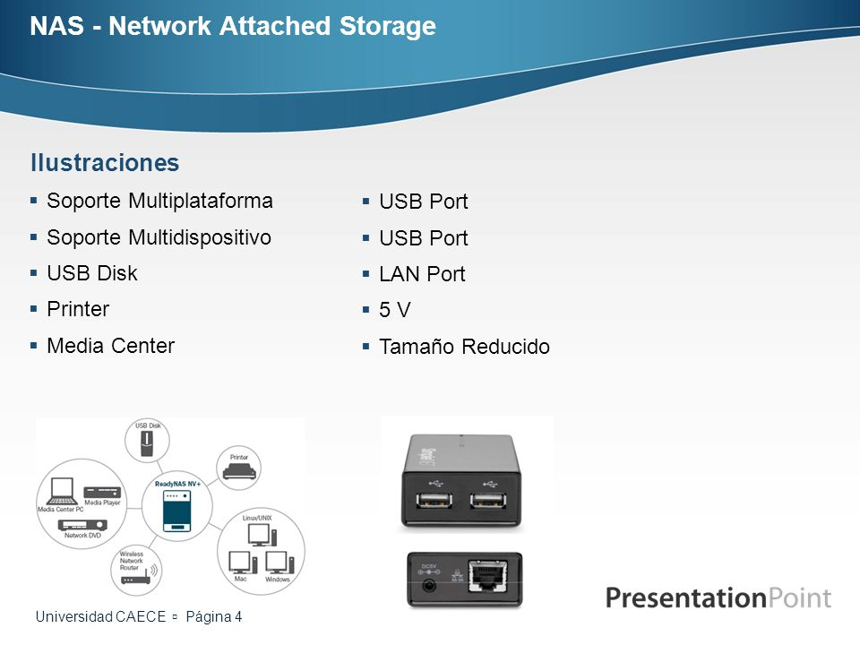 NAS - Network Attached Storage