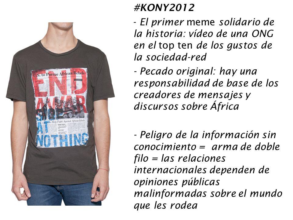 #KONY2012 El primer meme solidario de la historia: vídeo de una ONG en el top ten de los gustos de la sociedad-red.