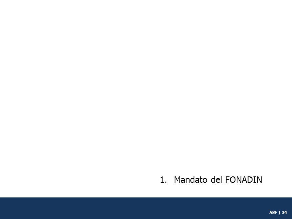 Mandato del FONADIN