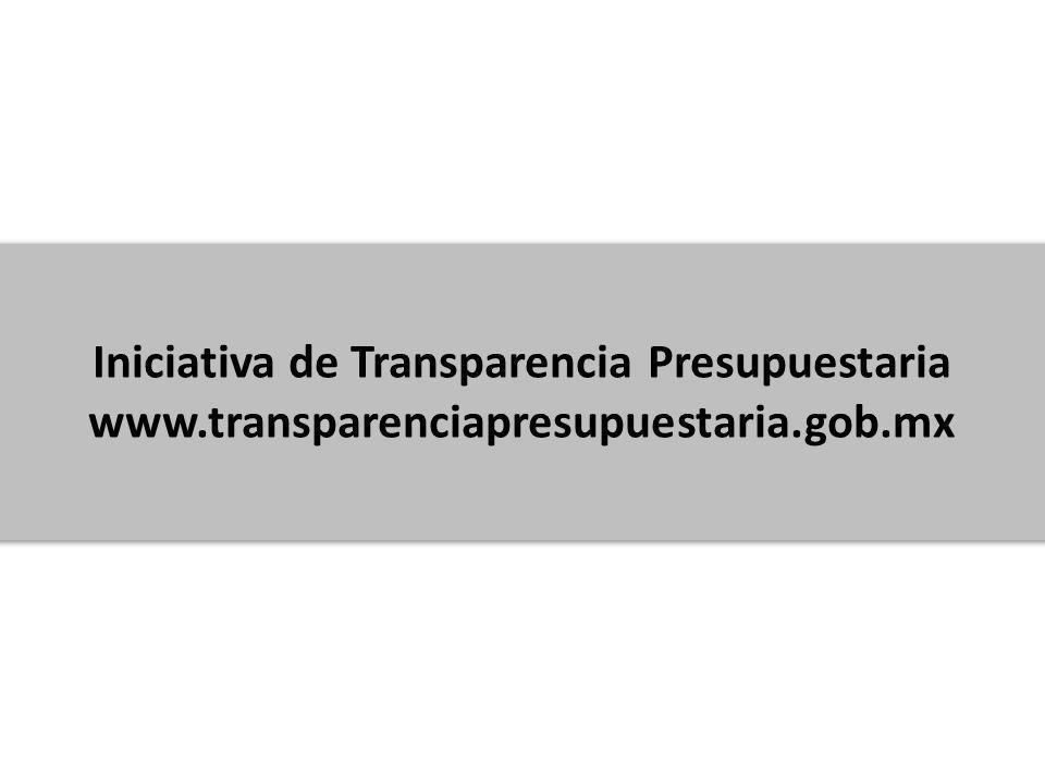 Iniciativa de Transparencia Presupuestaria