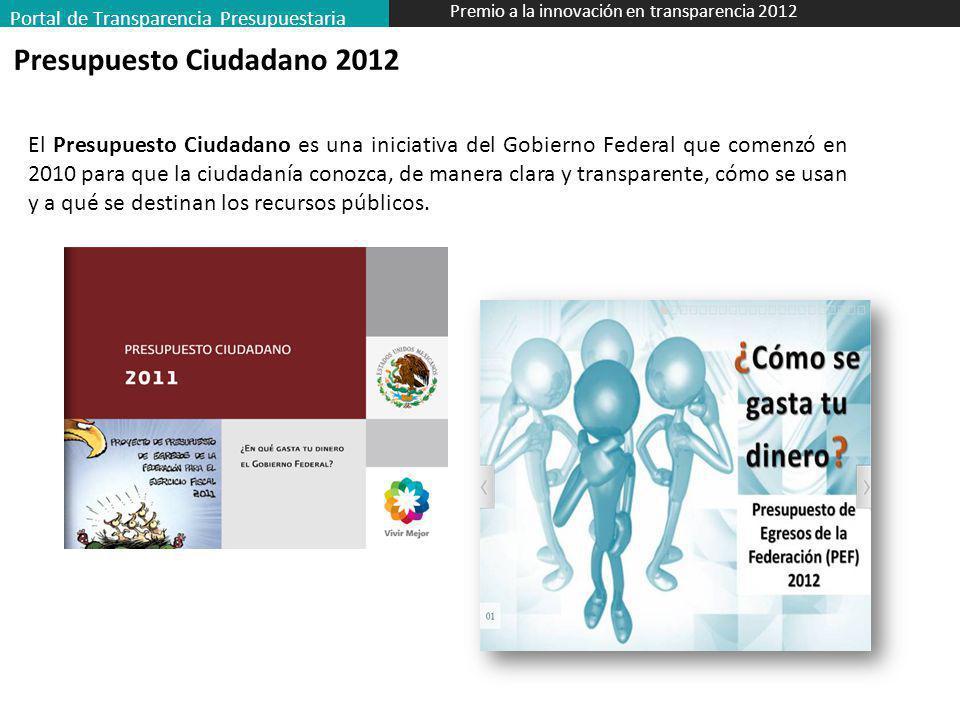 Presupuesto Ciudadano 2012