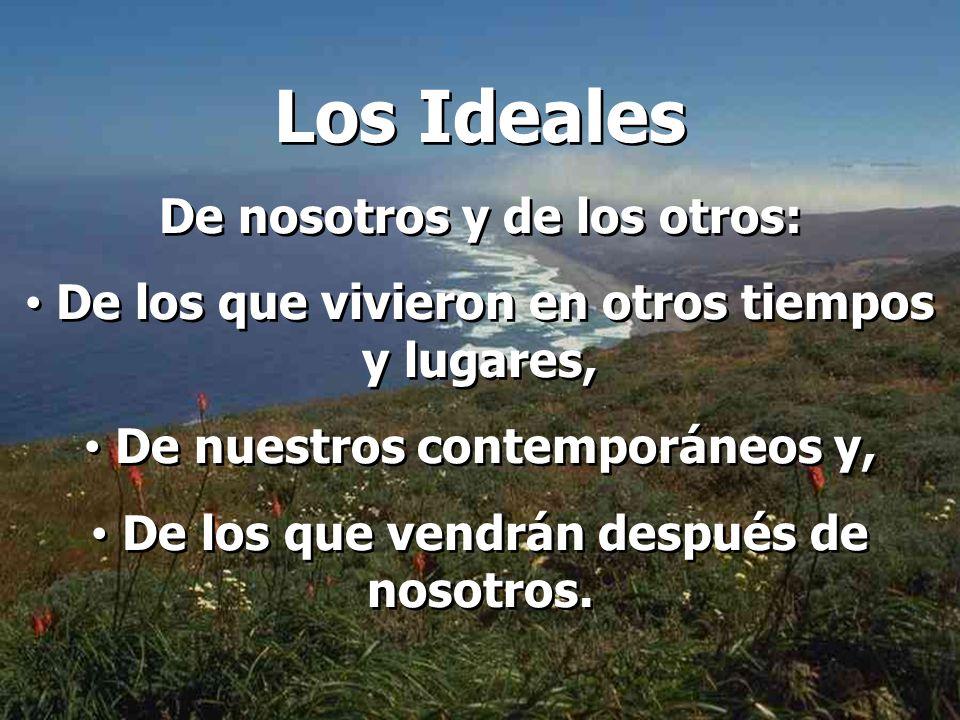 Los Ideales De nosotros y de los otros: