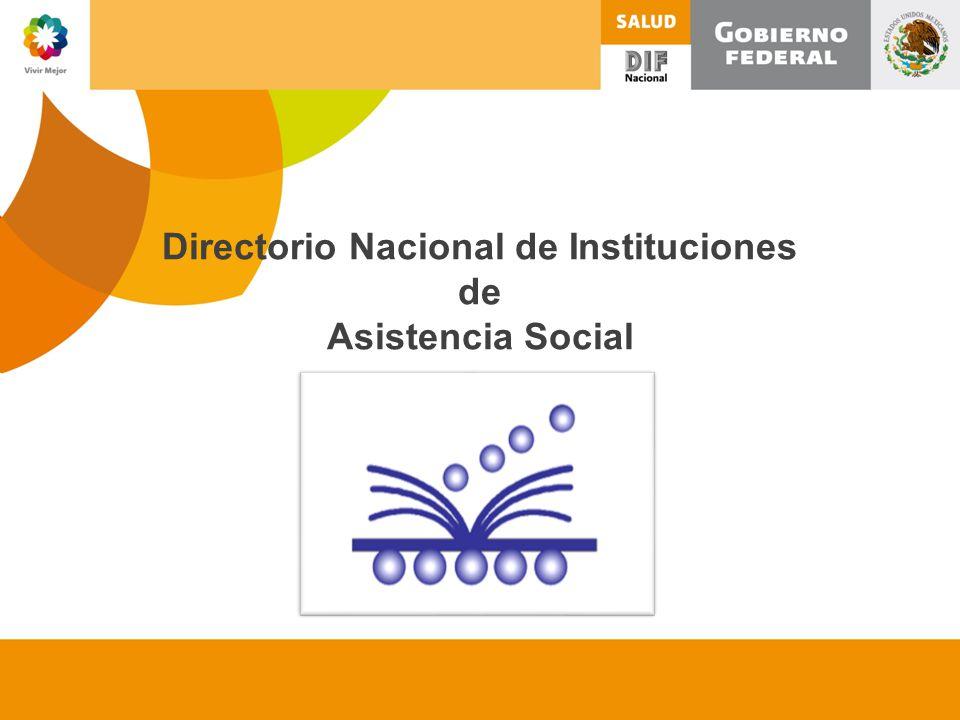Directorio Nacional de Instituciones