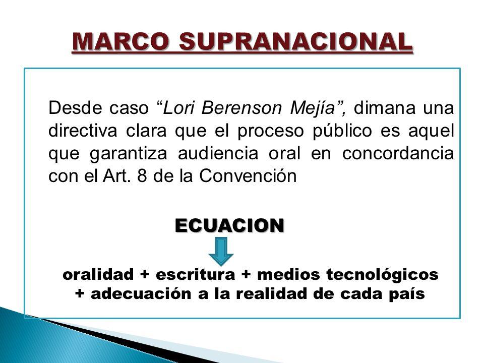 MARCO SUPRANACIONAL