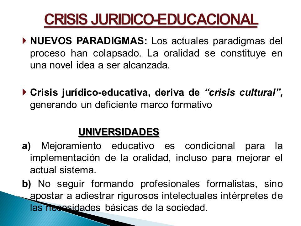 CRISIS JURIDICO-EDUCACIONAL