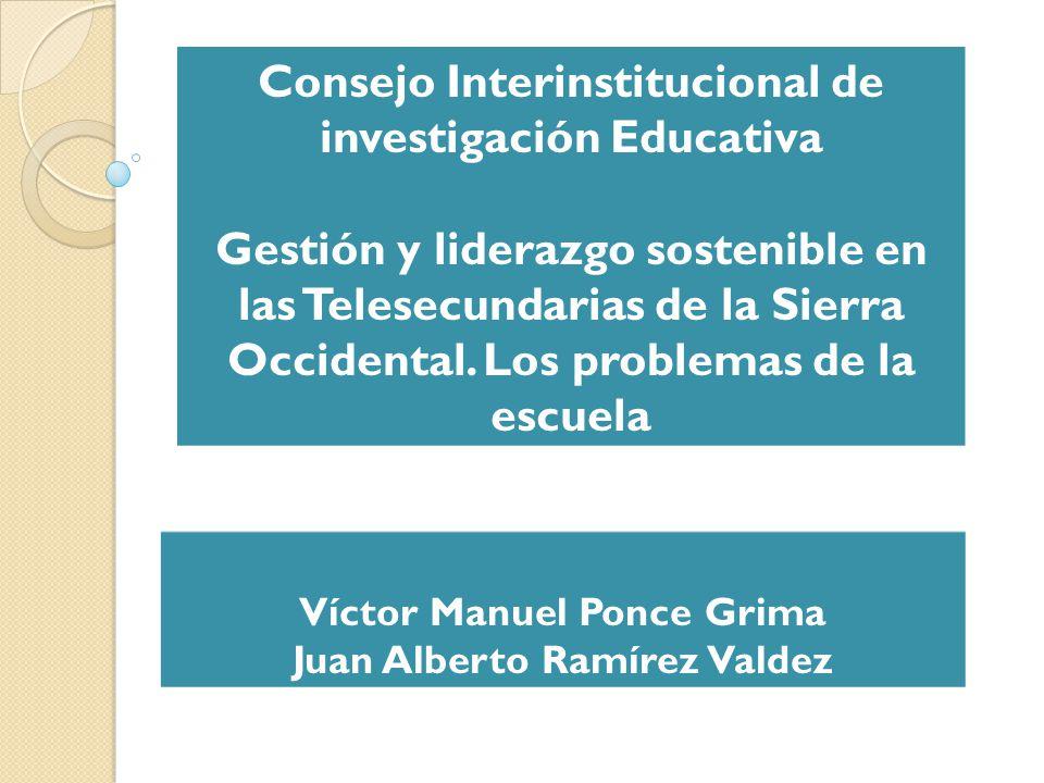 Consejo Interinstitucional de investigación Educativa