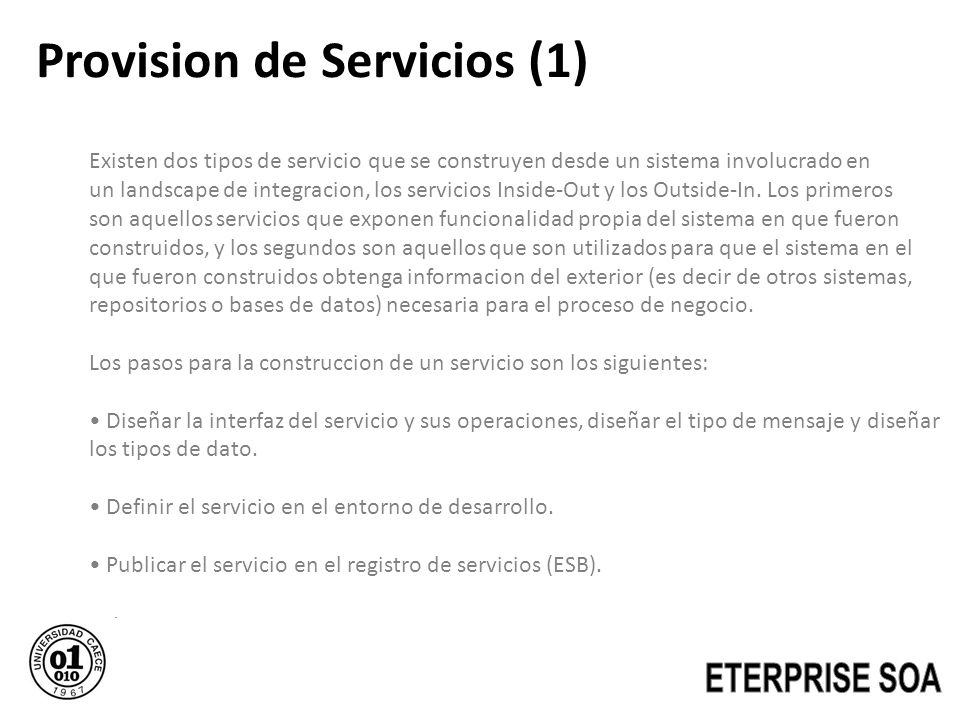 Provision de Servicios (1)