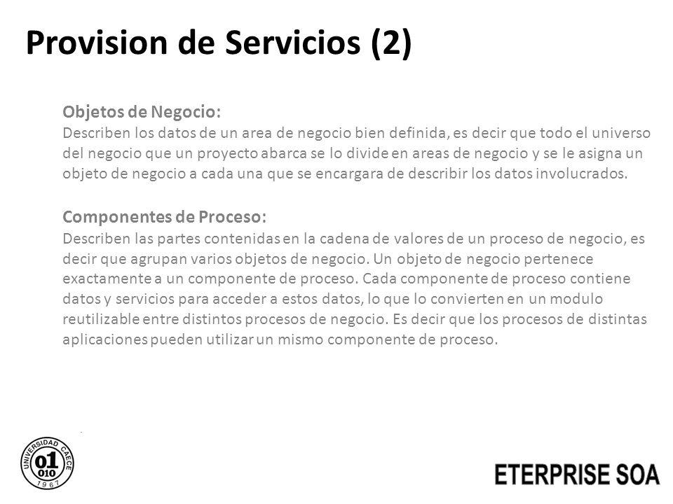 Provision de Servicios (2)