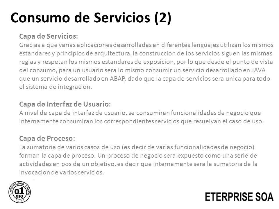Consumo de Servicios (2)