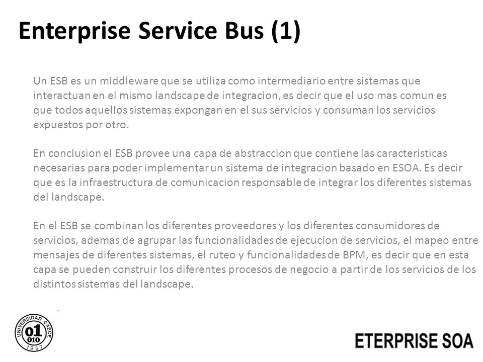 Enterprise Service Bus (1)