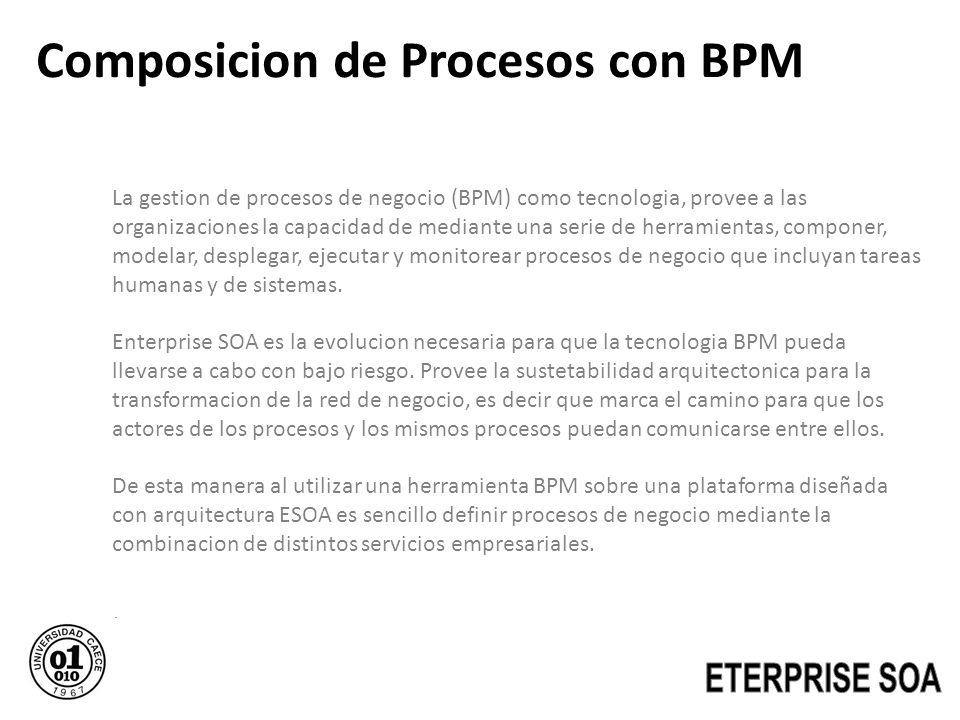 Composicion de Procesos con BPM