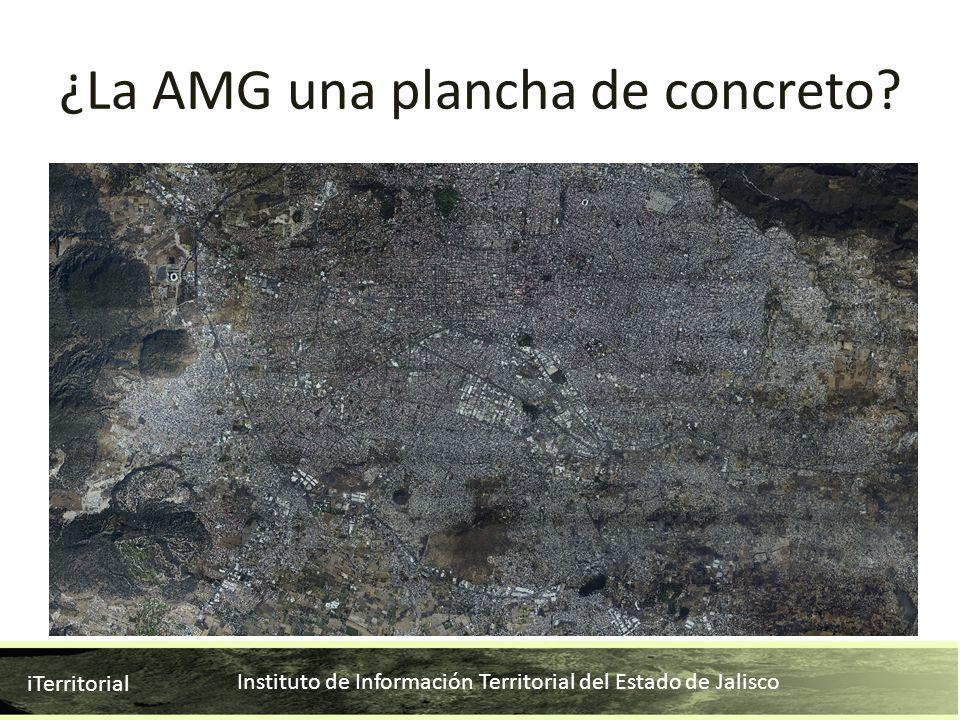 ¿La AMG una plancha de concreto