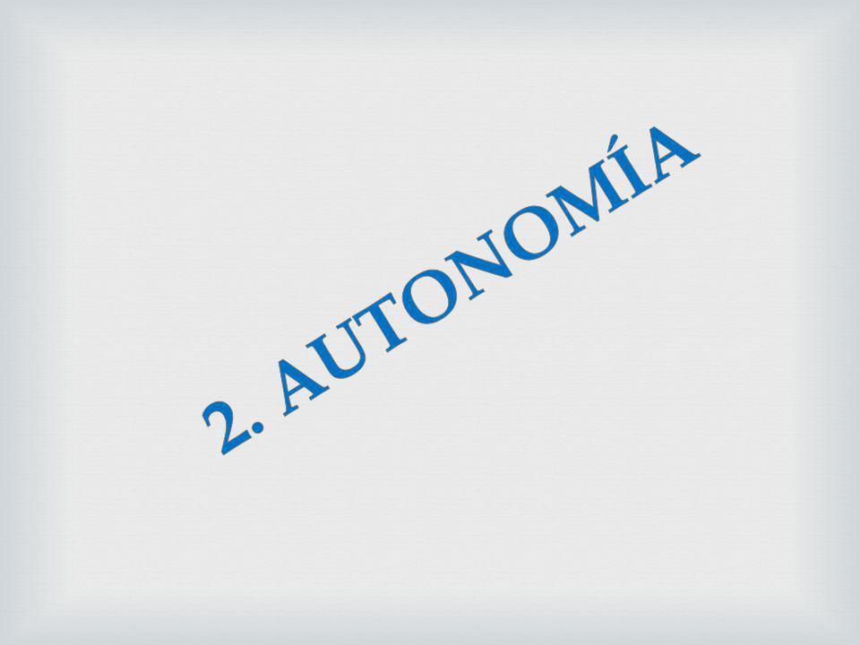 2. AUTONOMÍA