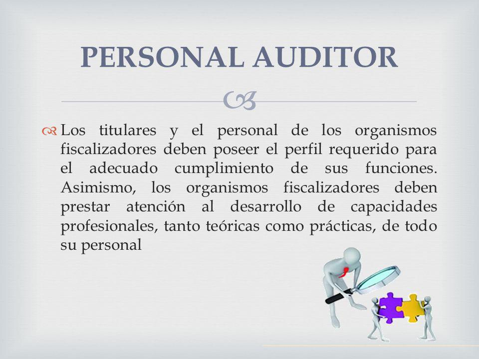 PERSONAL AUDITOR