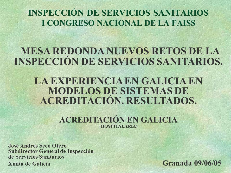 INSPECCIÓN DE SERVICIOS SANITARIOS I CONGRESO NACIONAL DE LA FAISS