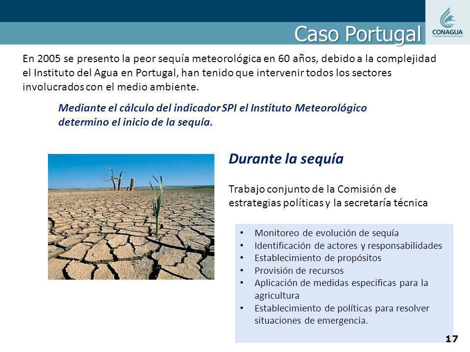 Caso Portugal Durante la sequía