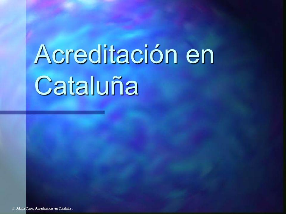 Acreditación en Cataluña