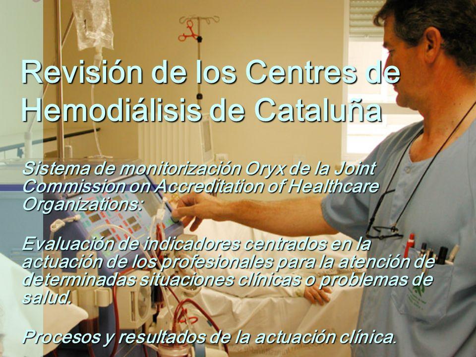 Revisión de los Centres de Hemodiálisis de Cataluña