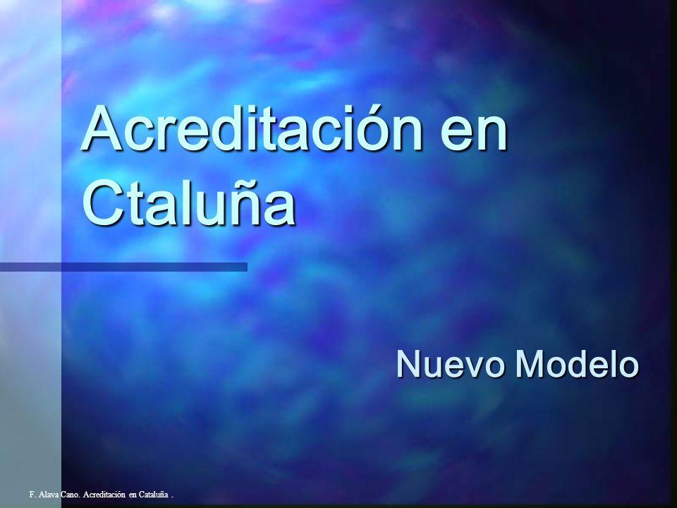 Acreditación en Ctaluña