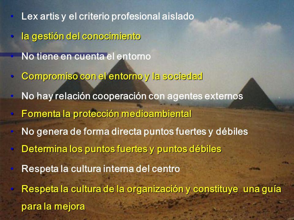 Lex artis y el criterio profesional aislado