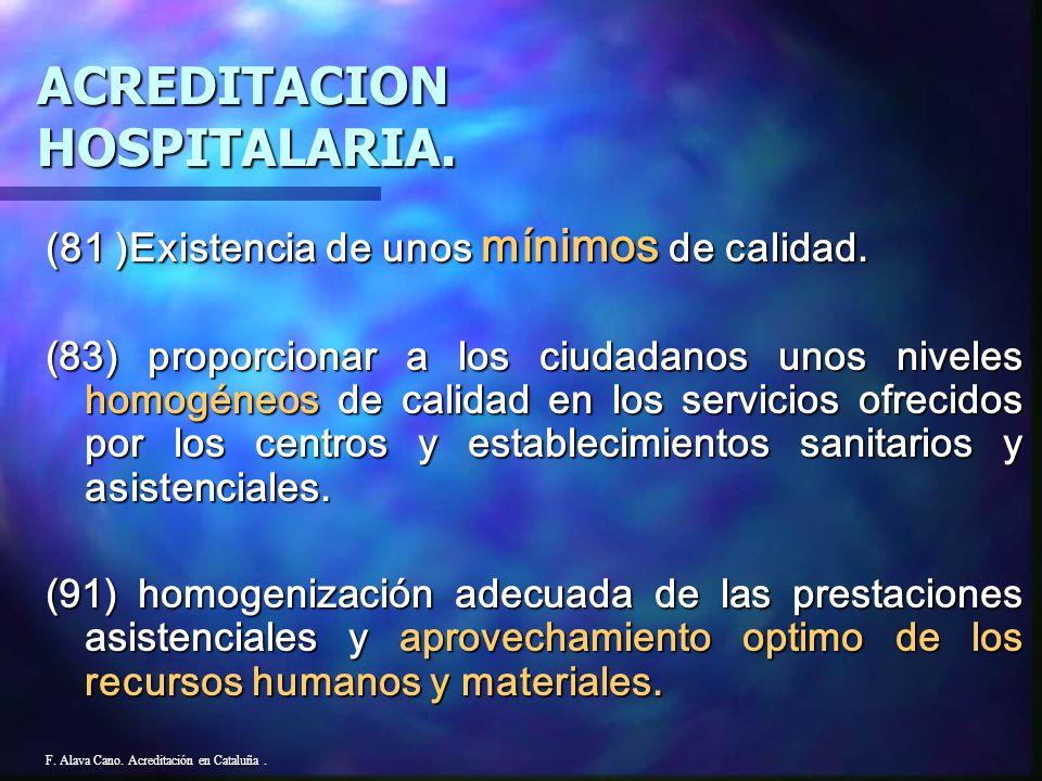 ACREDITACION HOSPITALARIA.