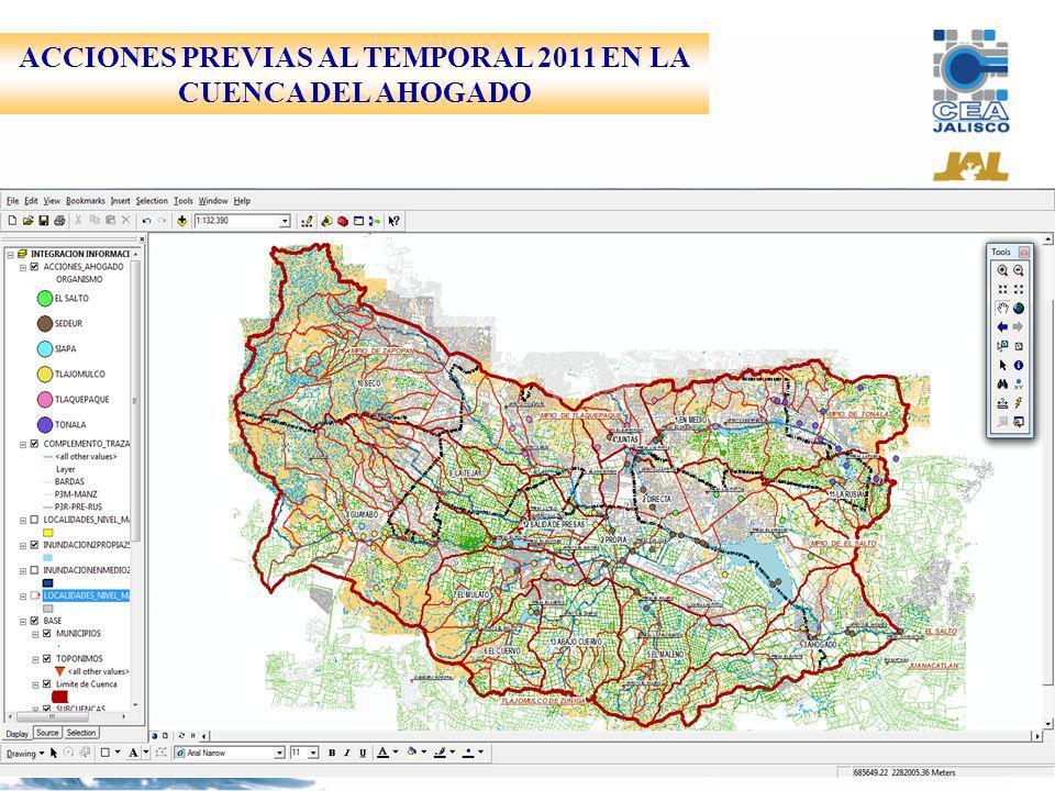 ACCIONES PREVIAS AL TEMPORAL 2011 EN LA CUENCA DEL AHOGADO