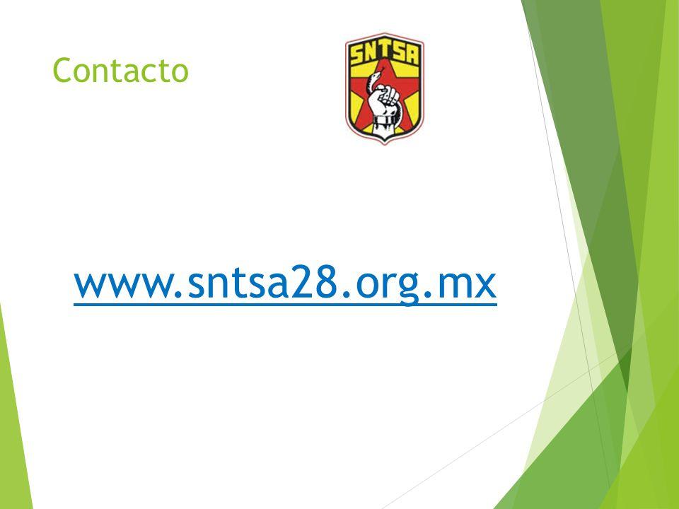 Contacto www.sntsa28.org.mx