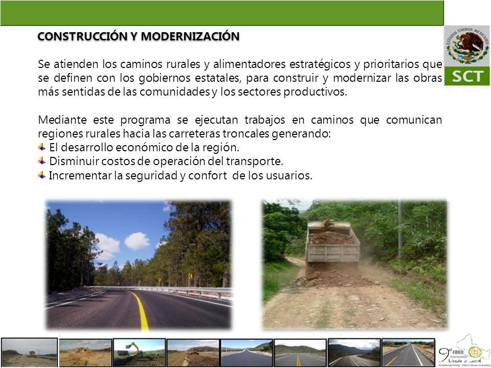 CONSTRUCCIÓN Y MODERNIZACIÓN
