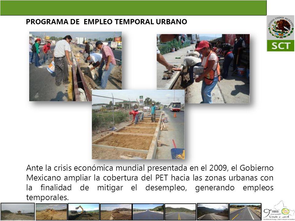 PROGRAMA DE EMPLEO TEMPORAL URBANO