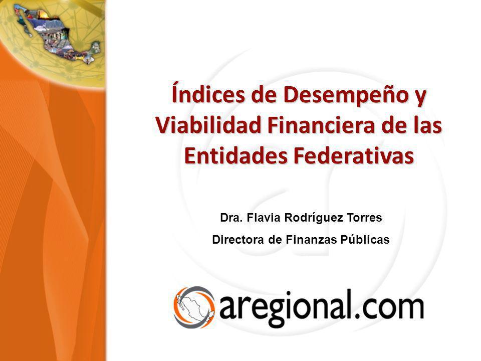 Dra. Flavia Rodríguez Torres Directora de Finanzas Públicas
