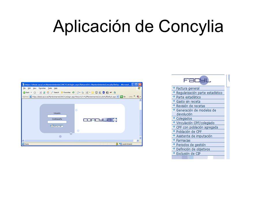 Aplicación de Concylia