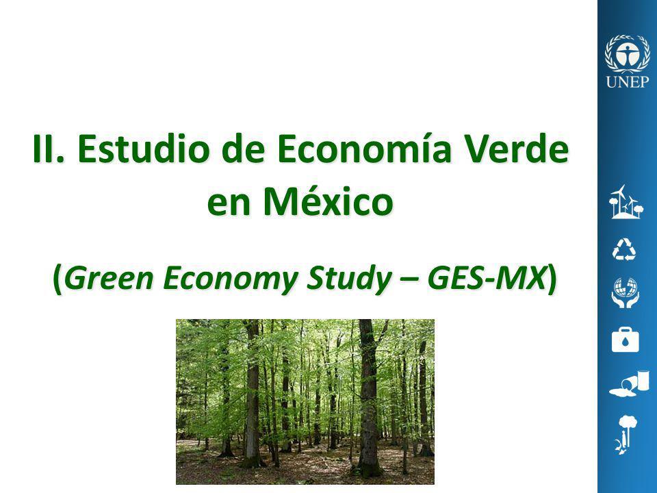 II. Estudio de Economía Verde en México (Green Economy Study – GES-MX)