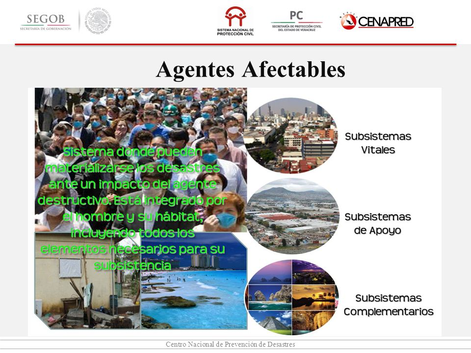 Agentes Afectables