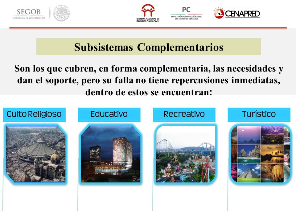 Subsistemas Complementarios