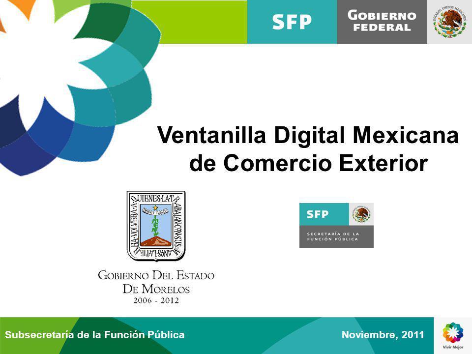 Ventanilla Digital Mexicana de Comercio Exterior