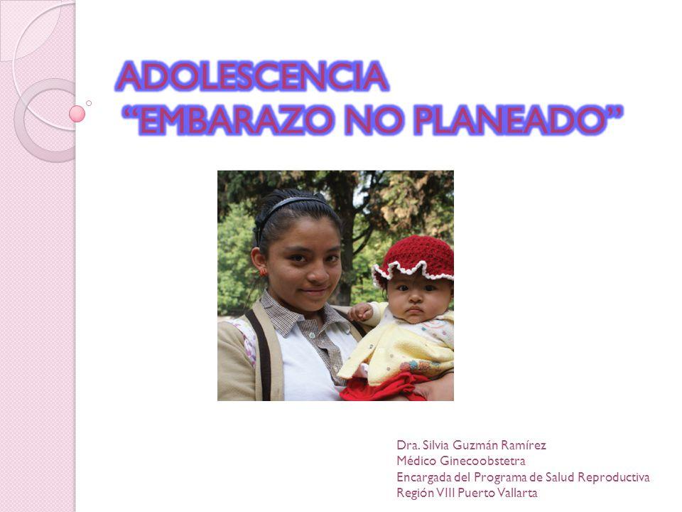 ADOLESCENCIA EMBARAZO NO PLANEADO