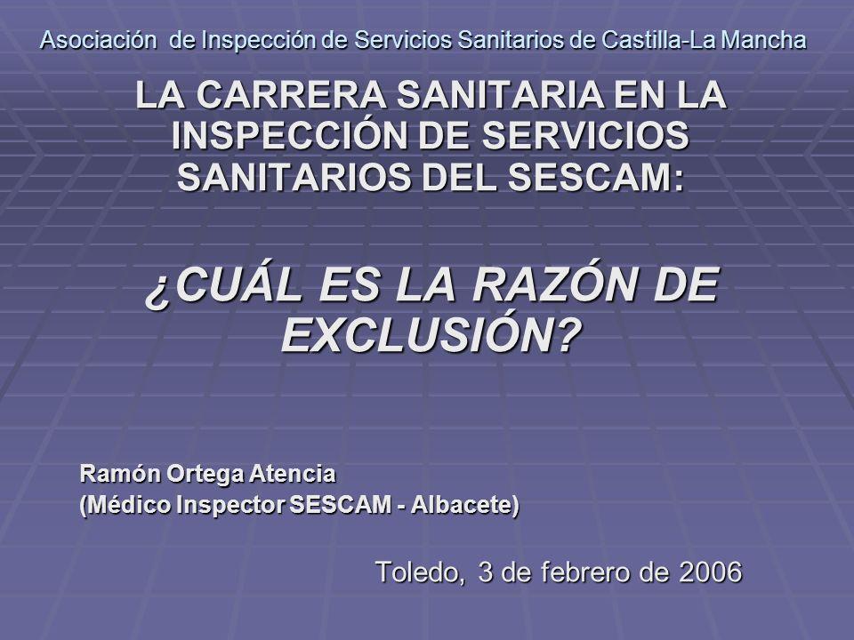 Asociación de Inspección de Servicios Sanitarios de Castilla-La Mancha