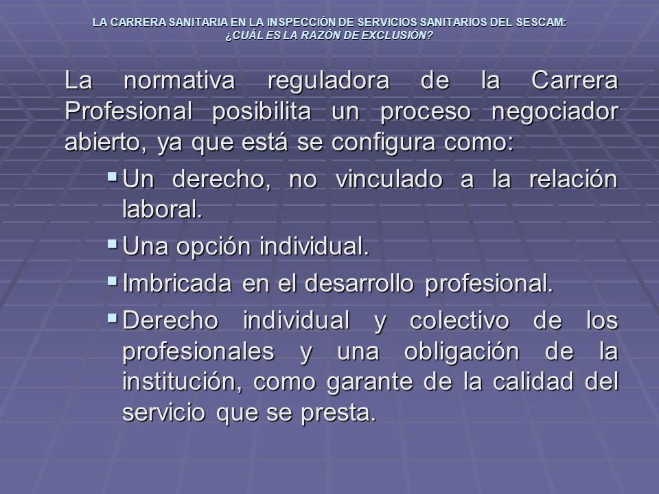 Un derecho, no vinculado a la relación laboral. Una opción individual.